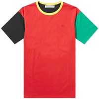 J.W.Anderson Jw Anderson Colourblock Tee Red