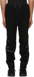 Y 3 Sport Black Wool Lounge Pants