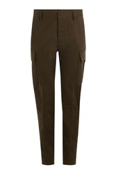 Dsquared2 Cotton Cargo Pants Green
