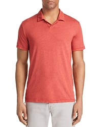 Velvet By Graham And Spencer Jacob Polo Tee Cayenne