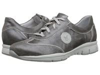Mephisto Yael Steel Atome Silver Old Vintage Women's Lace Up Casual Shoes Gray