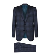 Pal Zileri Tailored Wool Jacket Male Navy