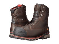 Timberland 8 Boondock 1000G Composite Safety Toe Waterproof Insulated Brown Tumbled Leather Men's Work Boots