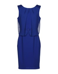 Gai Mattiolo Knee Length Dresses Blue