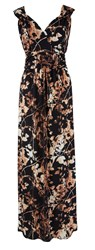 Grace Made In Britain Print Maxi Gold