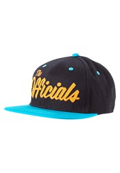 Official Shark Cap Black Orange