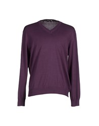 Aquascutum London Aquascutum Knitwear Jumpers Men Mauve