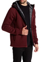 Bench Hooded Zip Jacket Red
