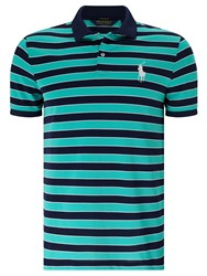 Ralph Lauren Polo Golf By Short Sleeve Polo Shirt Atlas Green Multi