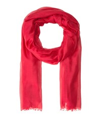 Collection Xiix Solid Soft Wrap Scarf Red Clay Scarves