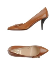 O Jour Pumps Brown