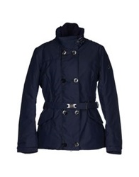 Dek'her Coats Dark Blue
