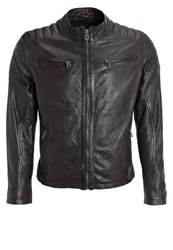 Gipsy Dago Leather Jacket Schoko Dark Brown