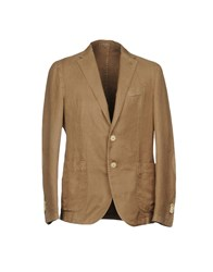 Fradi Suits And Jackets Blazers Camel