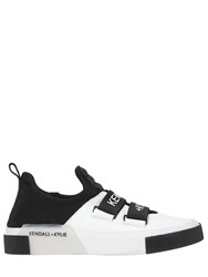 Kendall Kylie 20Mm Gail Neoprene And Leather Sneakers