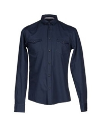 Alice San Diego Shirts Slate Blue