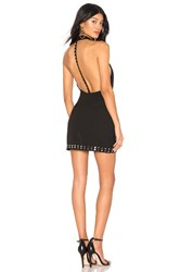 By The Way Roxi Studded Mini Dress Black
