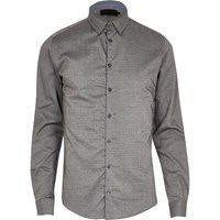 Vito River Island Mens Mid Grey Shirt