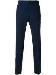 Calvin Klein Jeans Slim Fit Tailored Trousers Blue