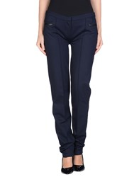 Alpha Massimo Rebecchi Trousers Casual Trousers Women Dark Blue