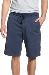 James Perse Surplus Relaxed Fit Shorts Blue