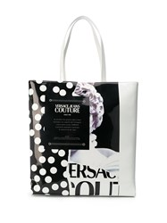 Versace Jeans Couture Mixed Print Vinyl Tote 60