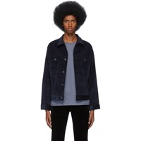 Naked And Famous Denim Indigo Corduroy Jacket