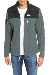 Helly Hansen Men's Sitka Full Zip Polartec Fleece Jacket Rock