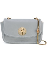 See By Chloe Lois Cross Body Bag Women Cotton Sheep Skin Shearling One Size Grey
