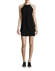 Jessica Simpson Embellished Shift Dress Black