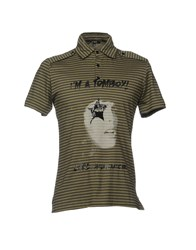 Cnc Costume National C'n'c' Polo Shirts Military Green
