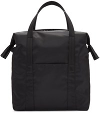 Maison Martin Margiela Black Nylon Tote Bag