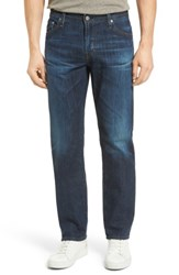 Ag Jeans Men's Graduate Slim Straight Leg 9 Years Crafted Blue