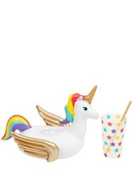 Sunnylife Inflatable Unicorn Drink Holder Multicolor