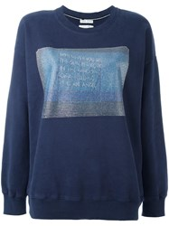 Each X Other 'Angel' Sweatshirt Blue