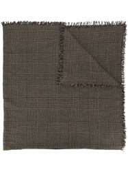 Faliero Sarti Knitted Scarf Brown