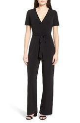 Catherine Malandrino Women's Surplice Jumpsuit