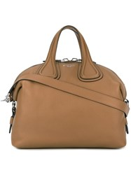 Givenchy Medium 'Nightingale' Tote Brown
