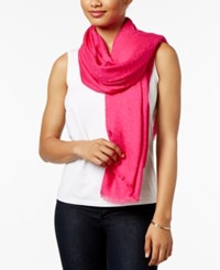 Calvin Klein Ck Logo Wrap And Scarf In One Heathered Almond