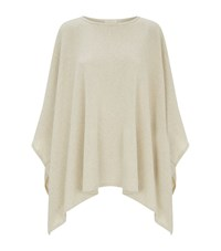 Eileen Fisher Sequin Embellished Poncho Female Neutral