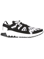 Neil Barrett Molecular Sneakers Black