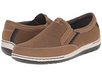 Dunham Fitsync Tan Men's Slip On Shoes