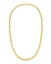 Dina Mackney Hill Tribe Chain Necklace 38 Gold