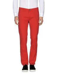 9.2 By Carlo Chionna Casual Pants Red