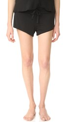 Ingrid And Isabel Maternity Lounge Shorts Black