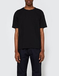 Our Legacy Weaved T Shirt Black Voile