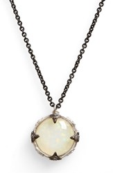 Armenta Women's New World Crivelli Opal Pendant Necklace