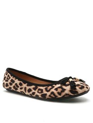 Qupid Bee Ballet Pump Leopard