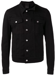Christian Dior Homme Destroy Denim Jacket Black