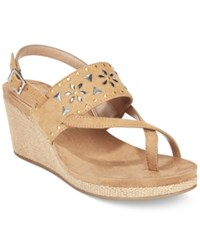 Styleandco. Style Co. Jazzmine Embellished Slingback Wedge Sandals Only At Macy's Women's Shoes Natural
